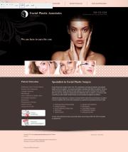 Facial Plastic Surgery Website Thumbnail #6