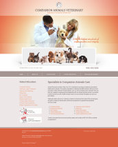 Veterinary Website Thumbnail #1