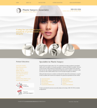 Plastic Surgery Website Thumbnail #4