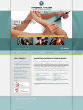 Chiropractic Website Thumbnail #5