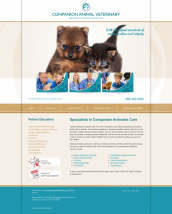 Veterinary Website Thumbnail #8