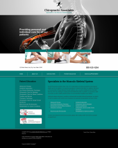 Chiropractic Website Thumbnail #6