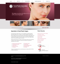 Facial Plastic Surgery Website Thumbnail #11