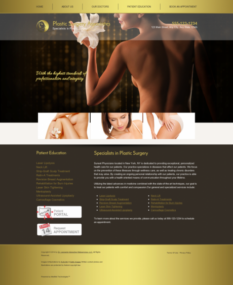 Plastic Surgery Website Preview #13